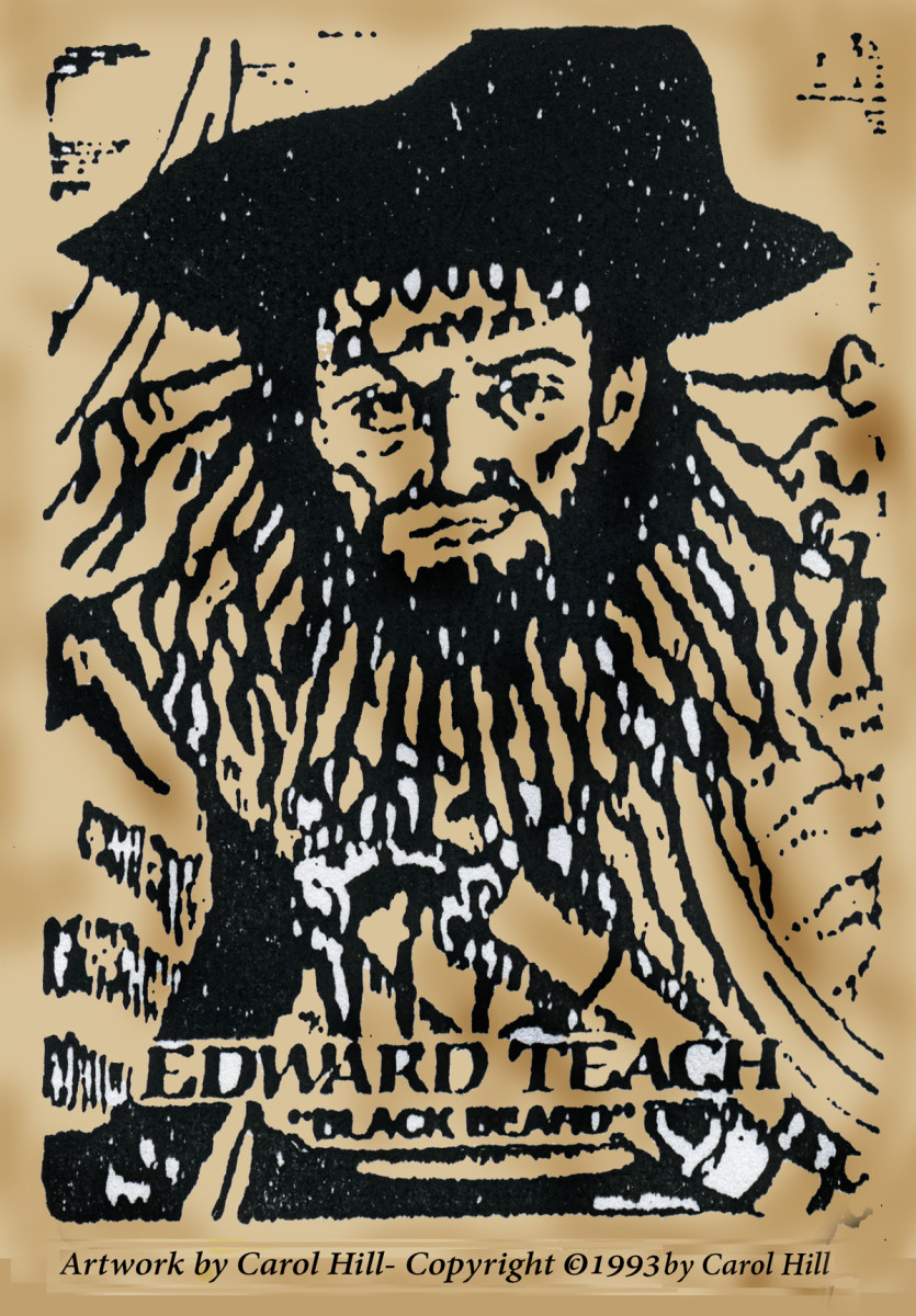 Edward Teach-Blackbeard
