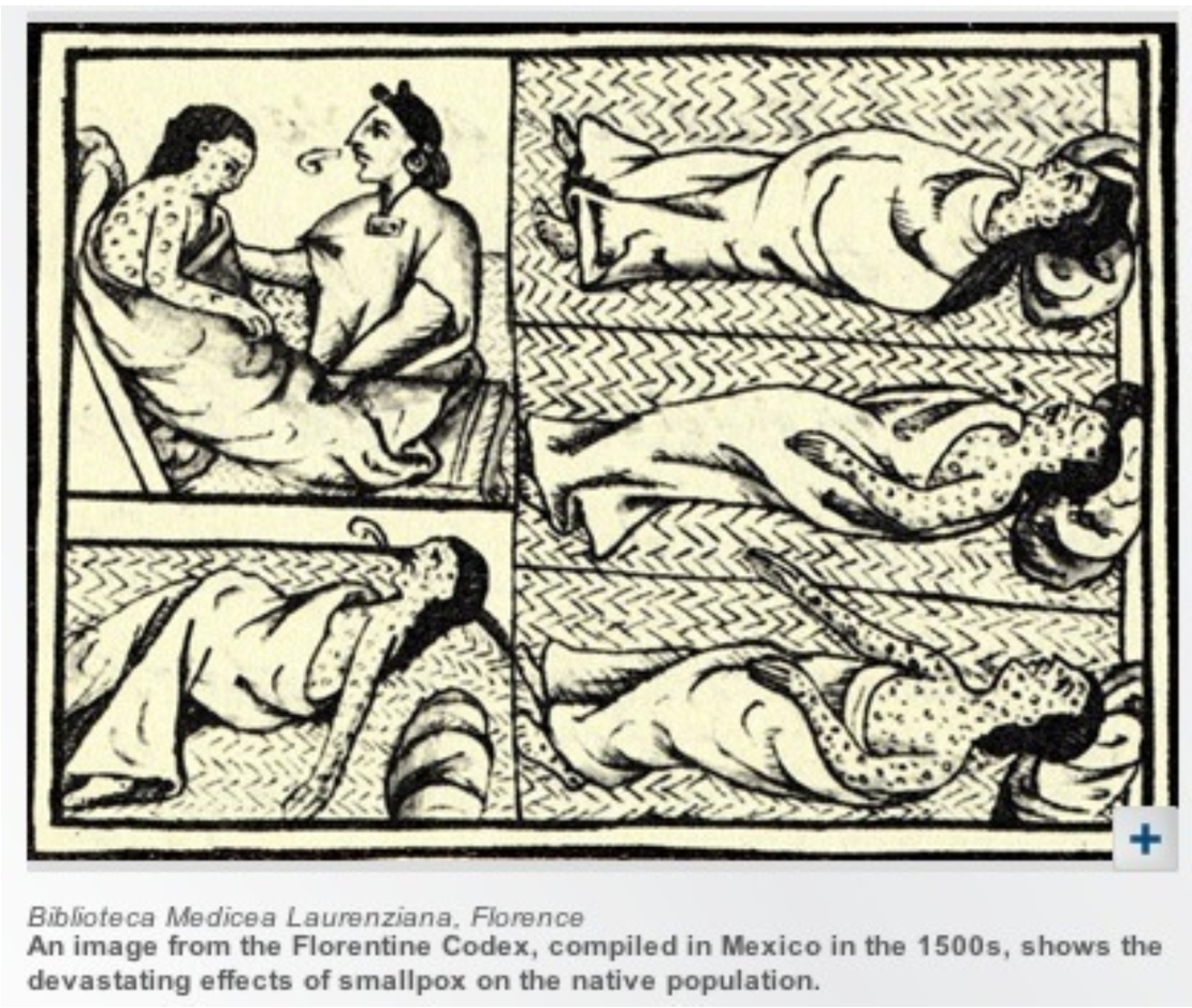 Source 8: An image from the Florentine Codex complied in 1500s