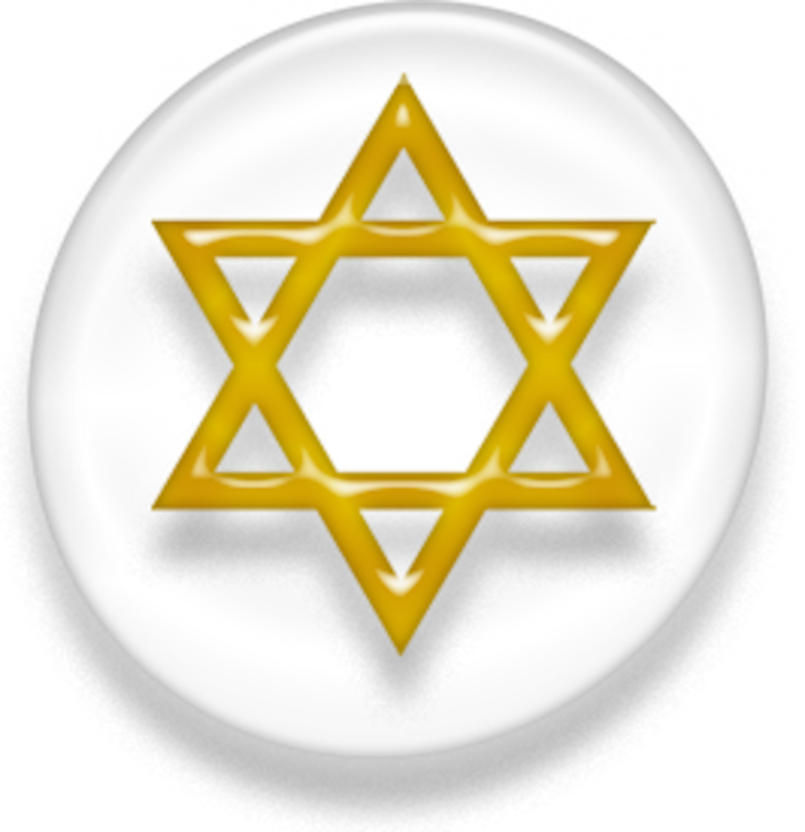 Also known as the Star of David
