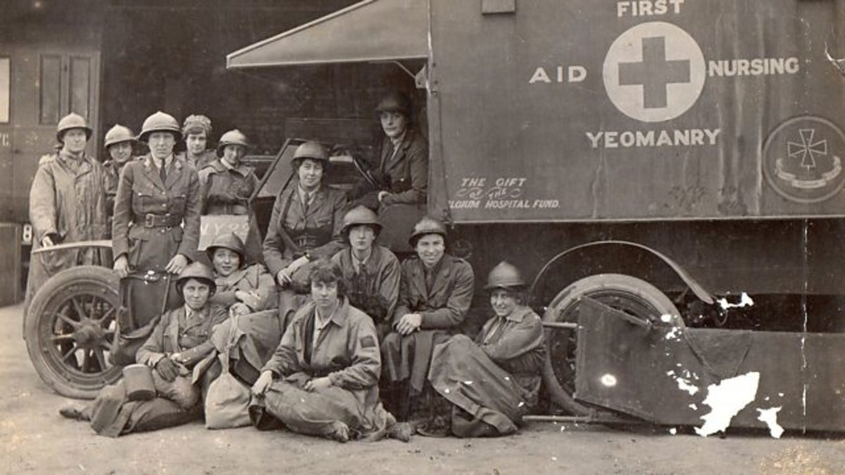 The First Aid Nursing Yeomanry: The Angels of World War I