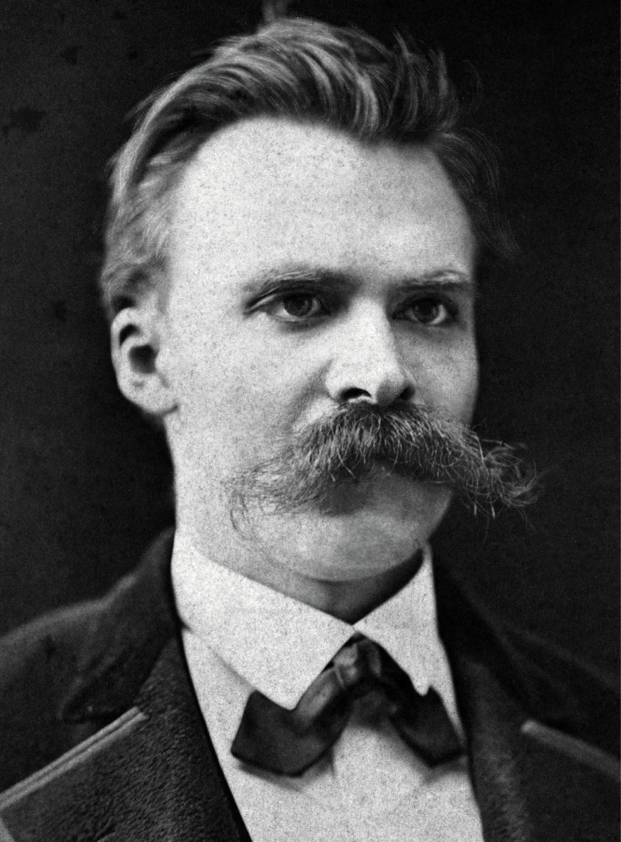 'He who fights with monsters should look to it that he himself does not become a monster. And when you gaze long into an abyss the abyss also gazes into you.' - Nietzsche