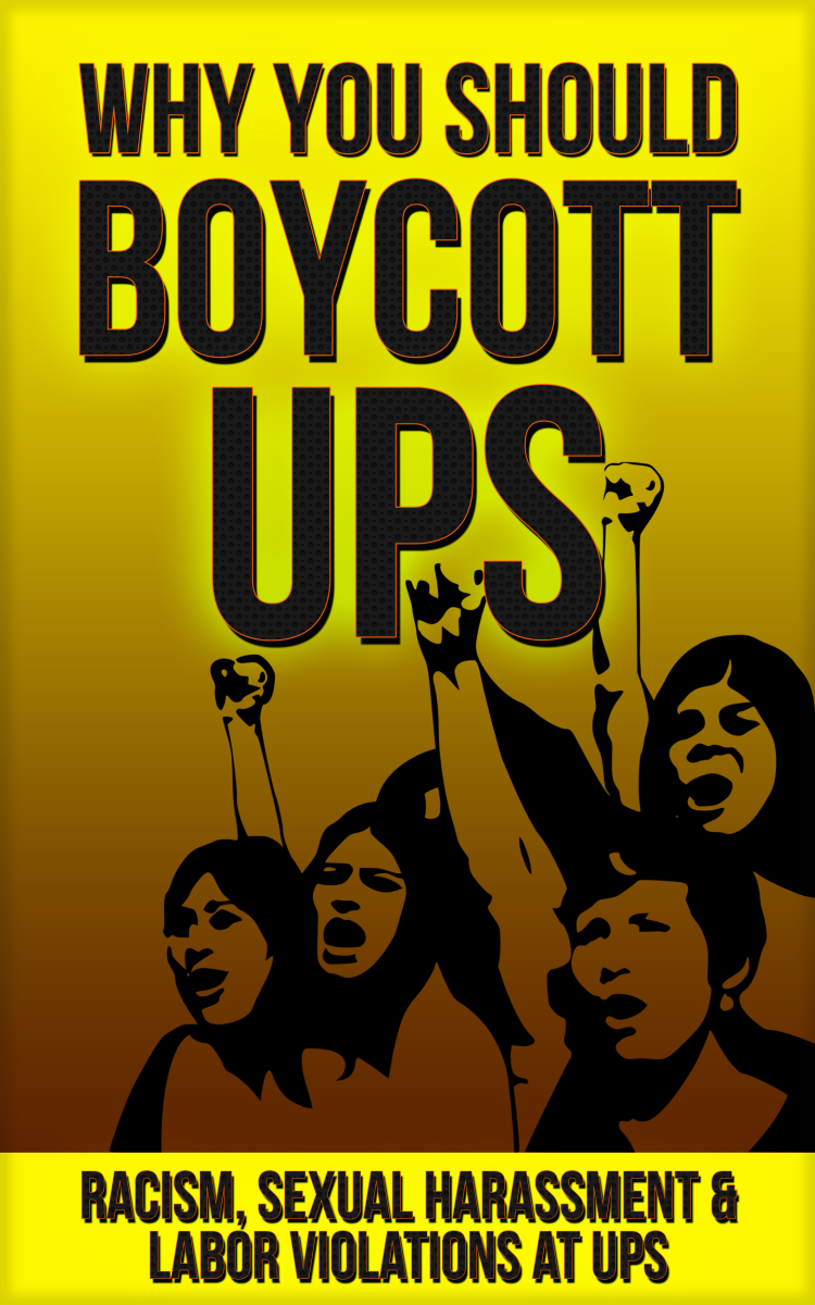 Why You Should Boycott UPS: Racism, Sexual Harassment & Labor Violations at UPS