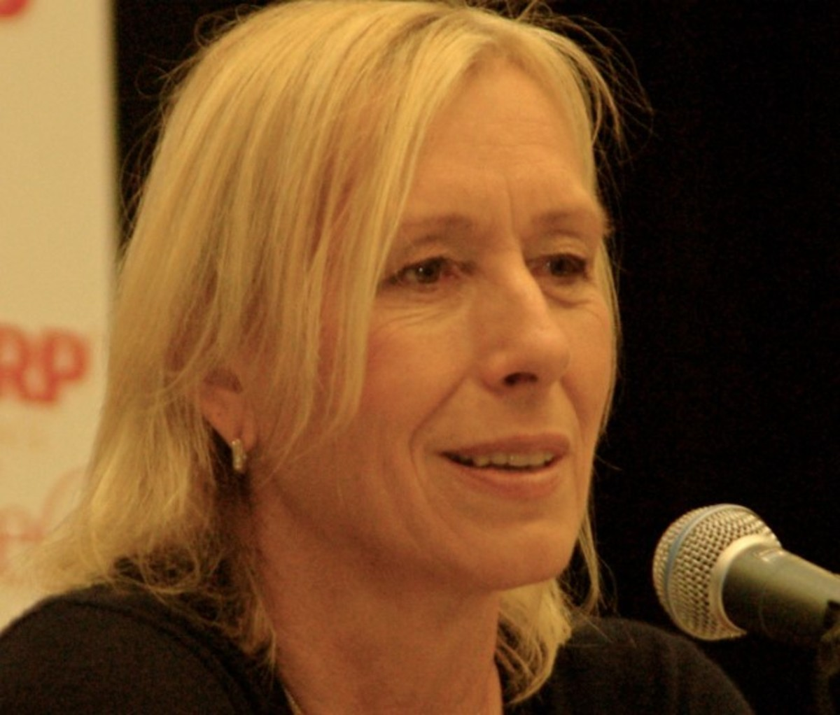Martina Navratilova: born October 18 1956 is a world famous tennis champion winning Wimbledon a record nine times