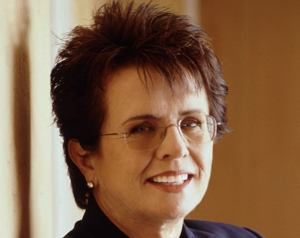 Billie Jean King: born November 22 1943 is a former World champion tennis player