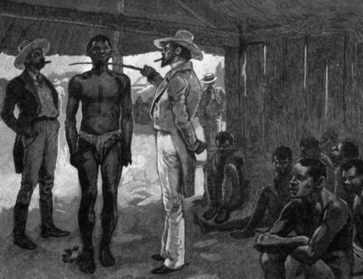 Agree, very Slavery white slave trade