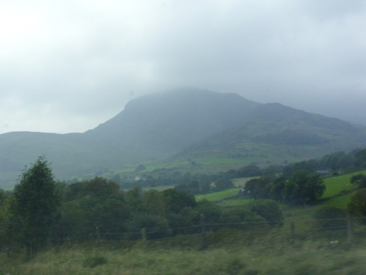 The mists of Cadair Idris.
