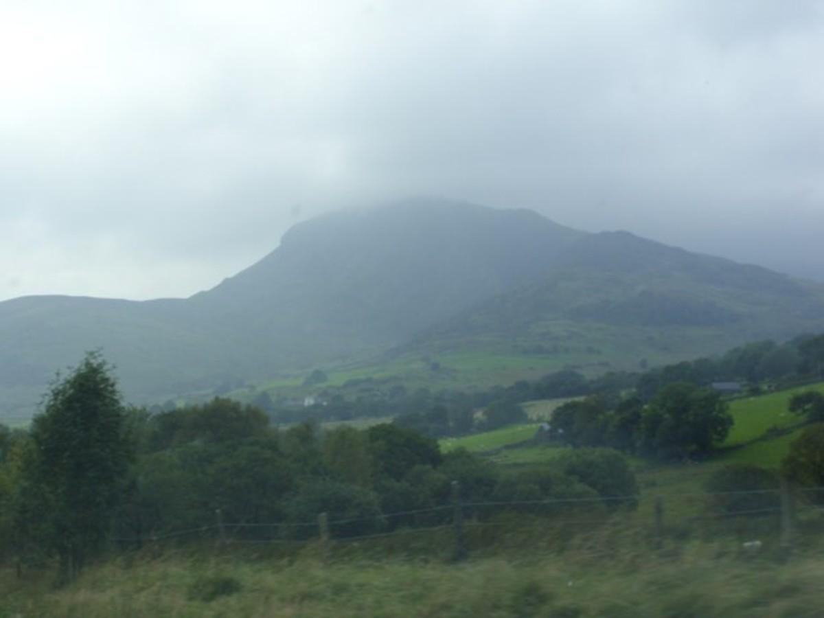 The mists of Cadair Idris.