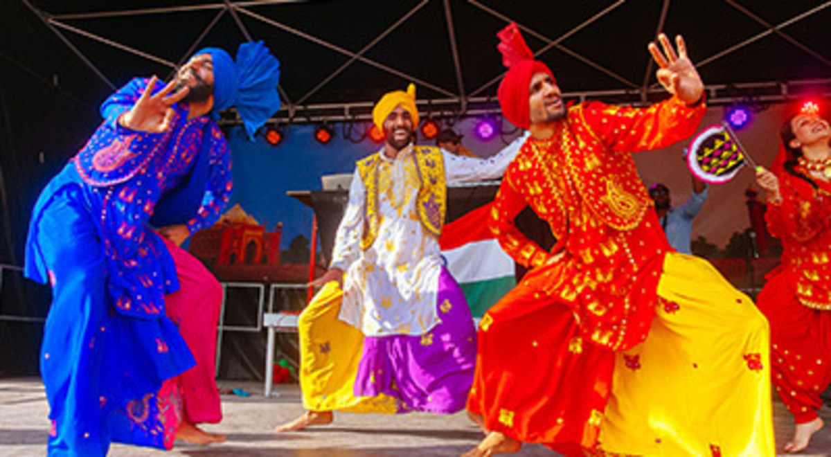 Folk dance: Bhangra