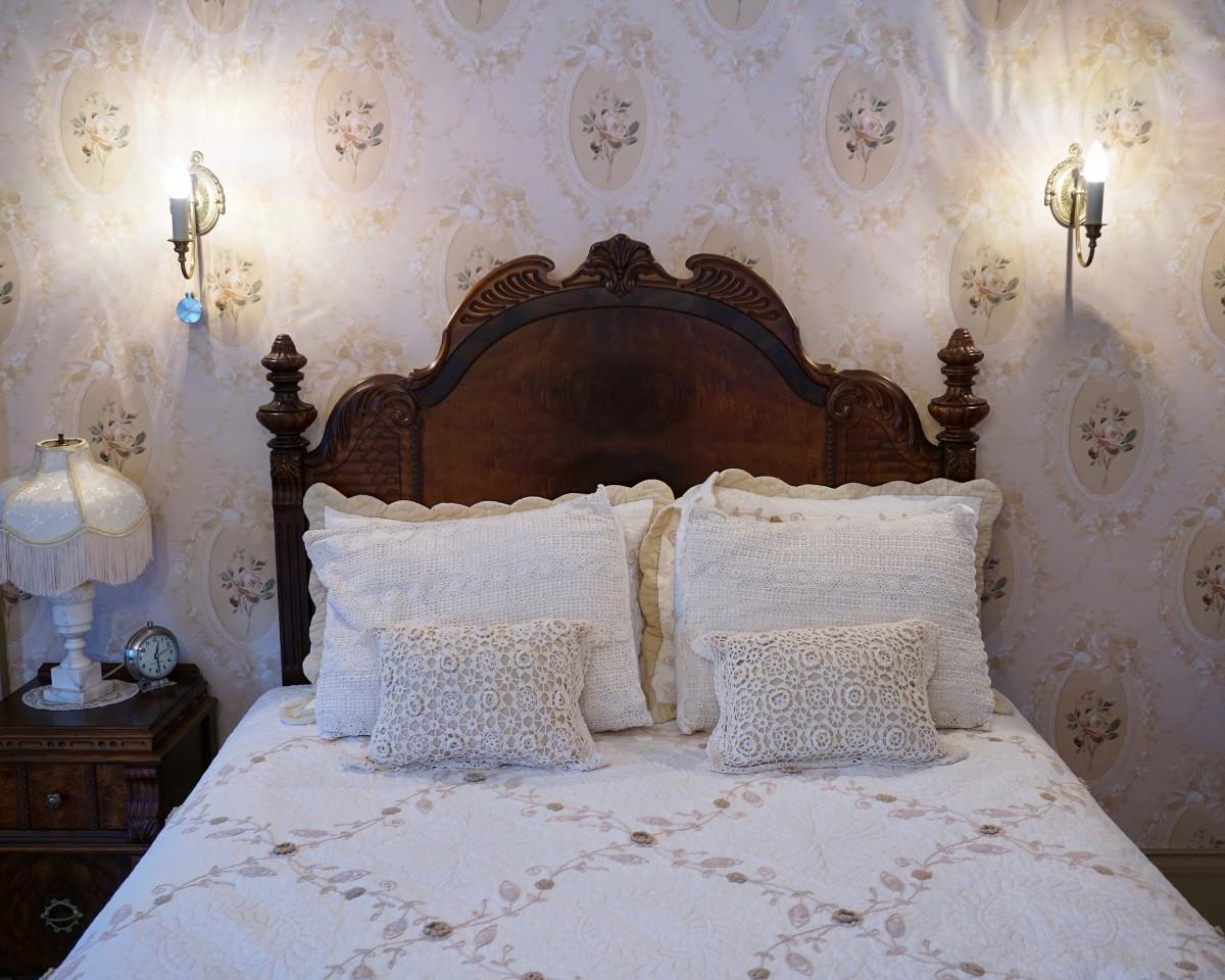 Felt Mansion Master Bedroom