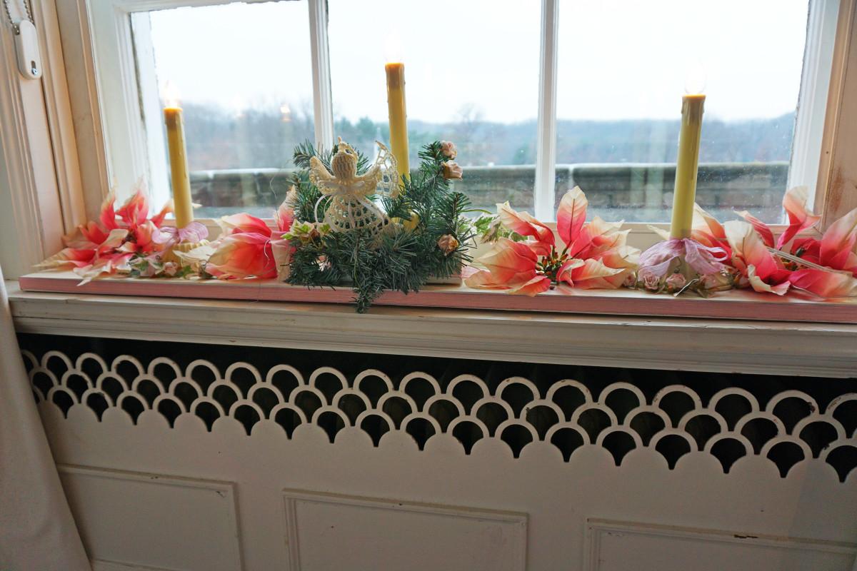 Felt Mansion Bedroom Window Detail