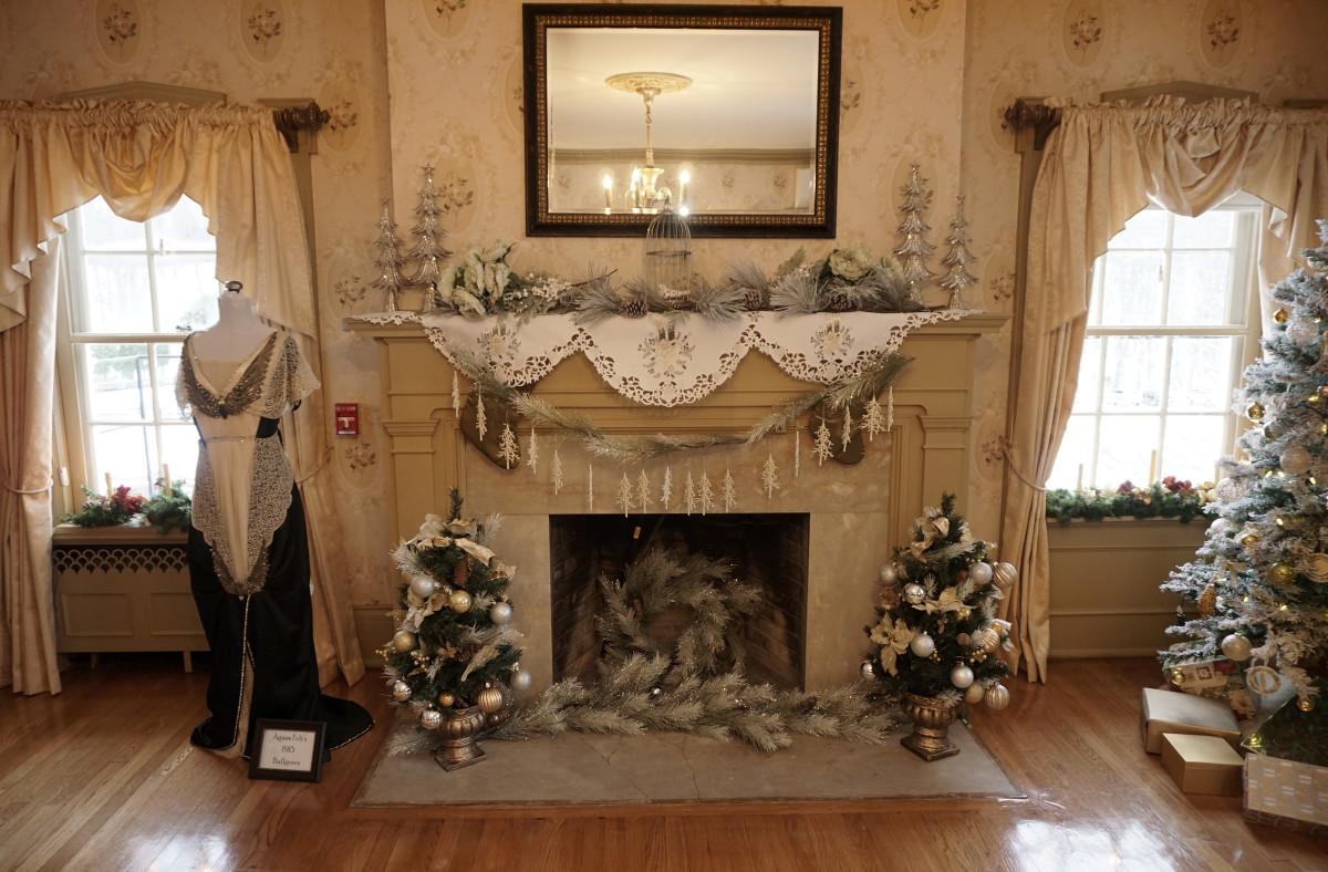 Fireplace in Master Bedroom Felt Mansion