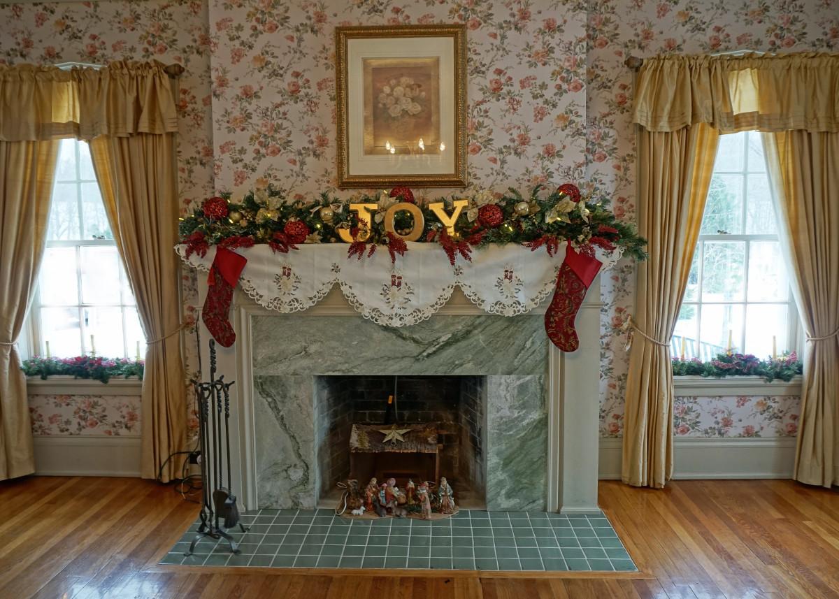Felt Mansion First Floor Guest Bedroom