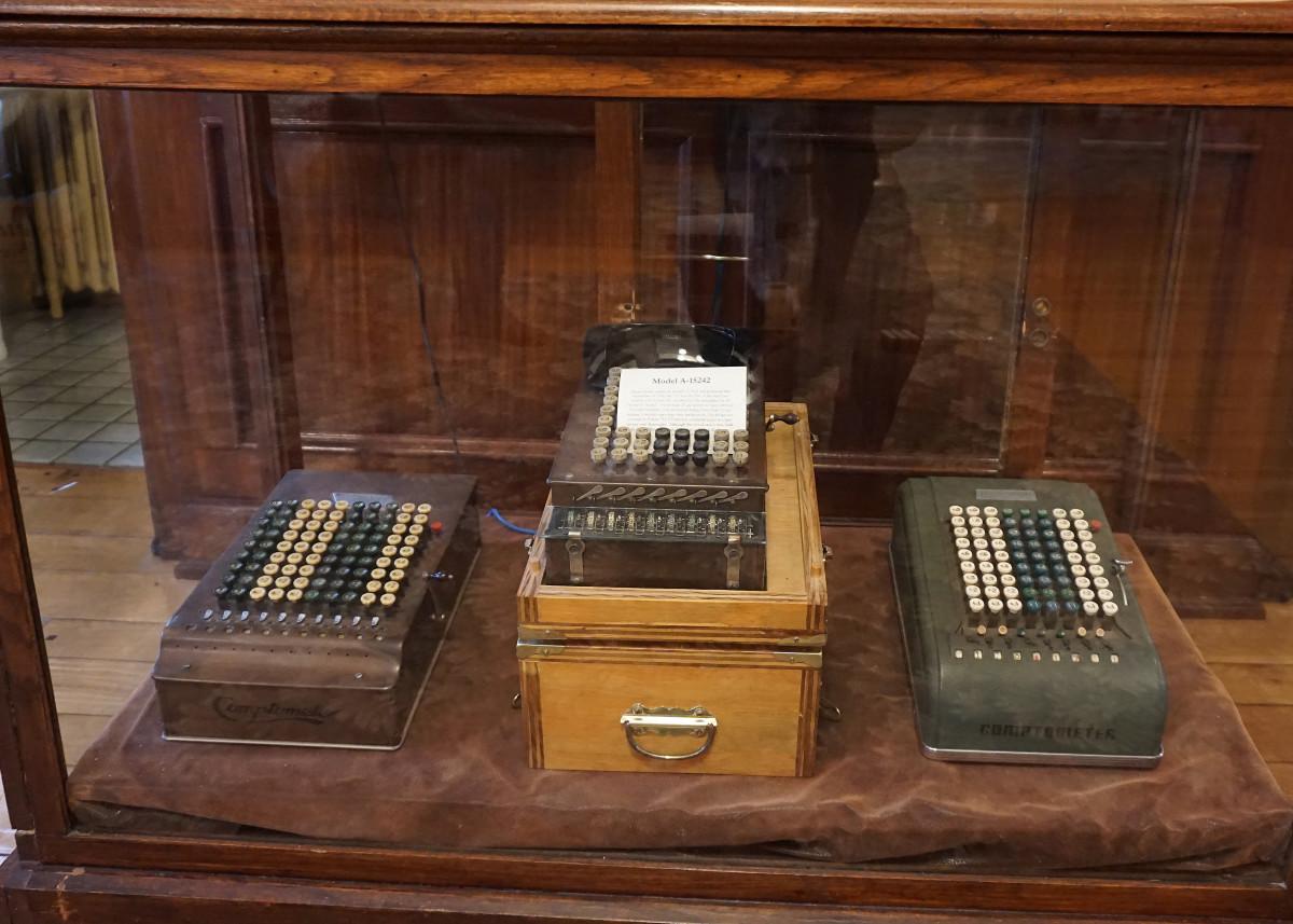 Felt Mansion-Dorr E. Felt's Patented Comptometers