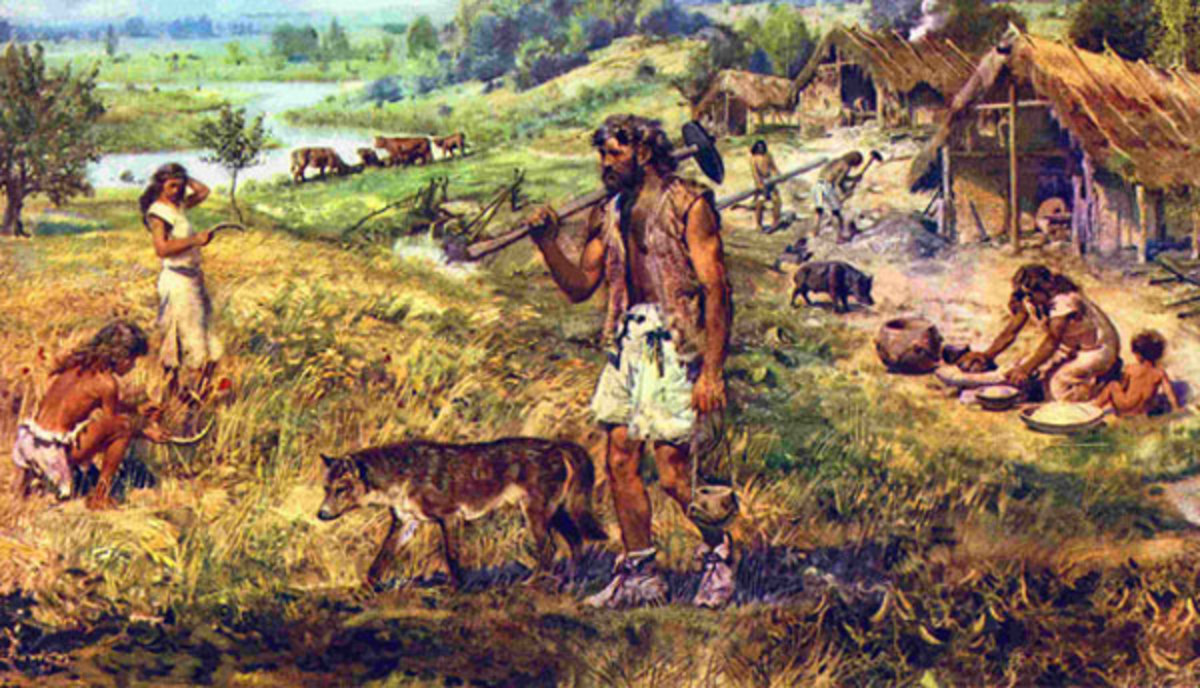 The Human Story – From Hunter-Gatherers to Farmers