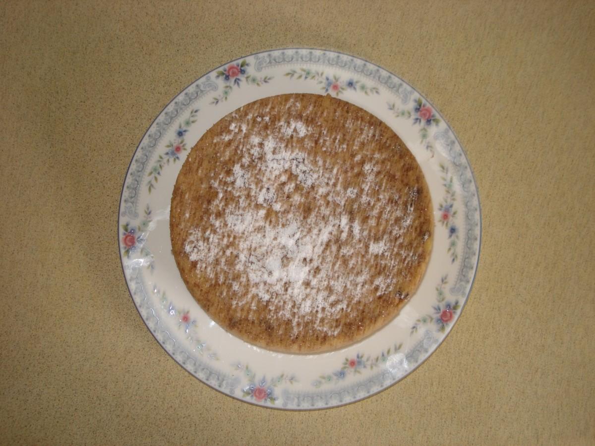 Gluten Free Microwave Banana Cake