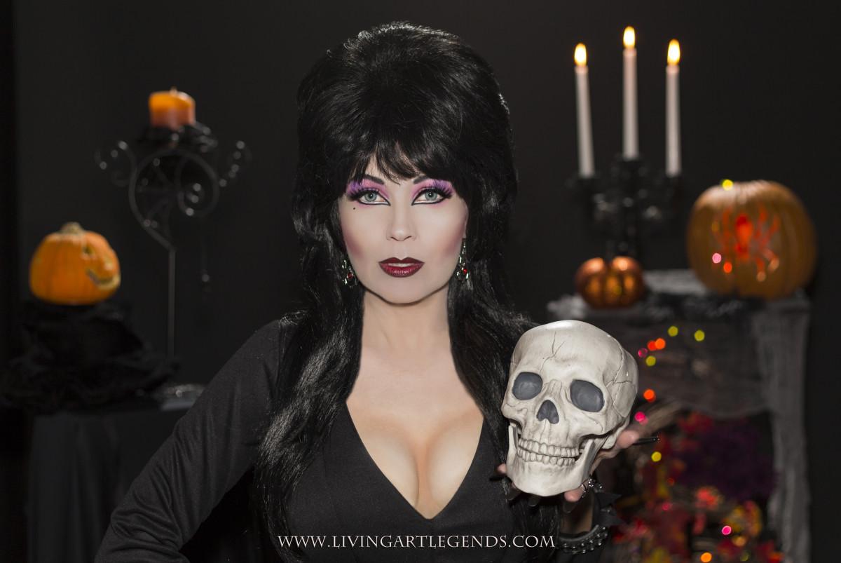 Cassandra in Full Makeup