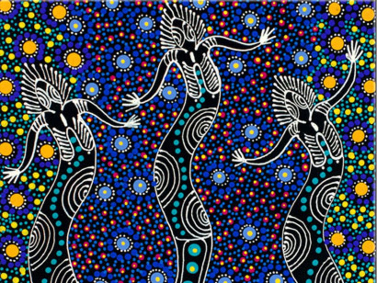Nungari dreamtime sisters
