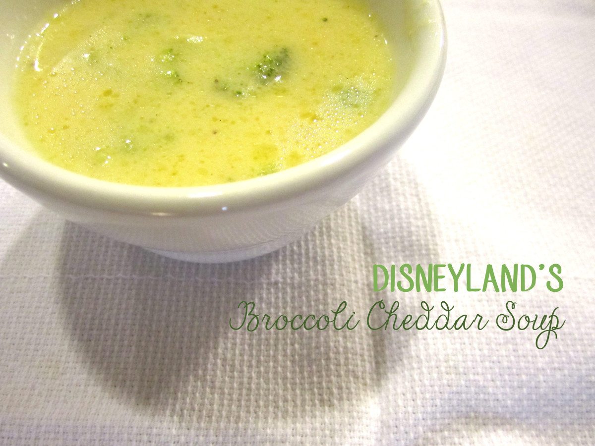 Disneyland's Broccoli Cheese Soup