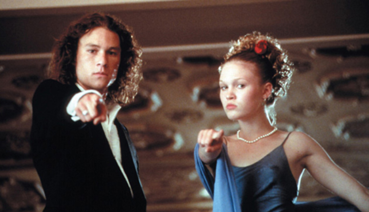 Scene from 10 Things I Hate About You