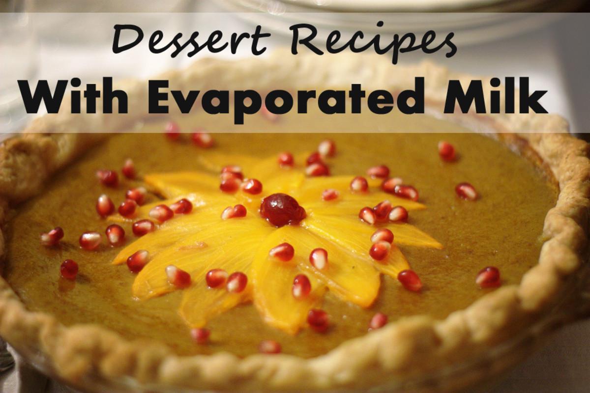 Dessert Recipes With Evaporated Milk