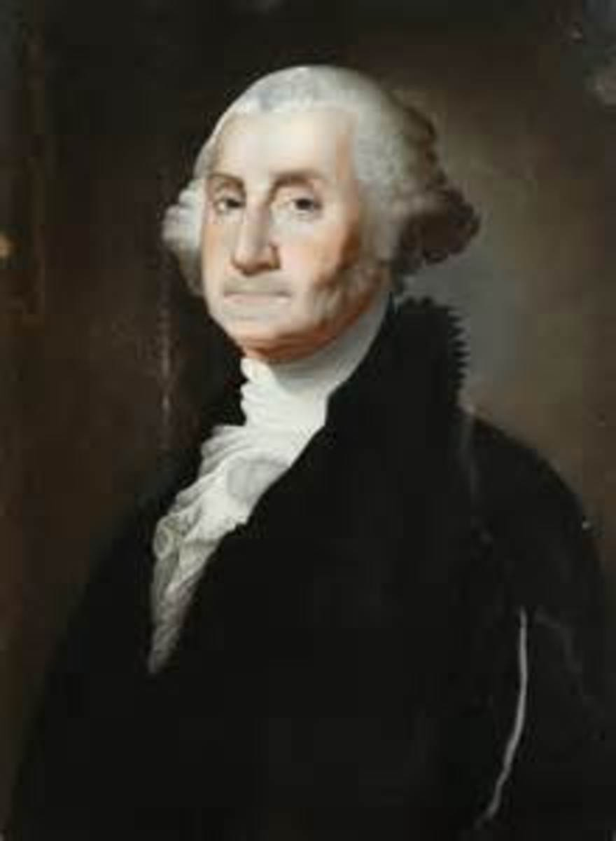 George Washington, 1st President of the United States of America.