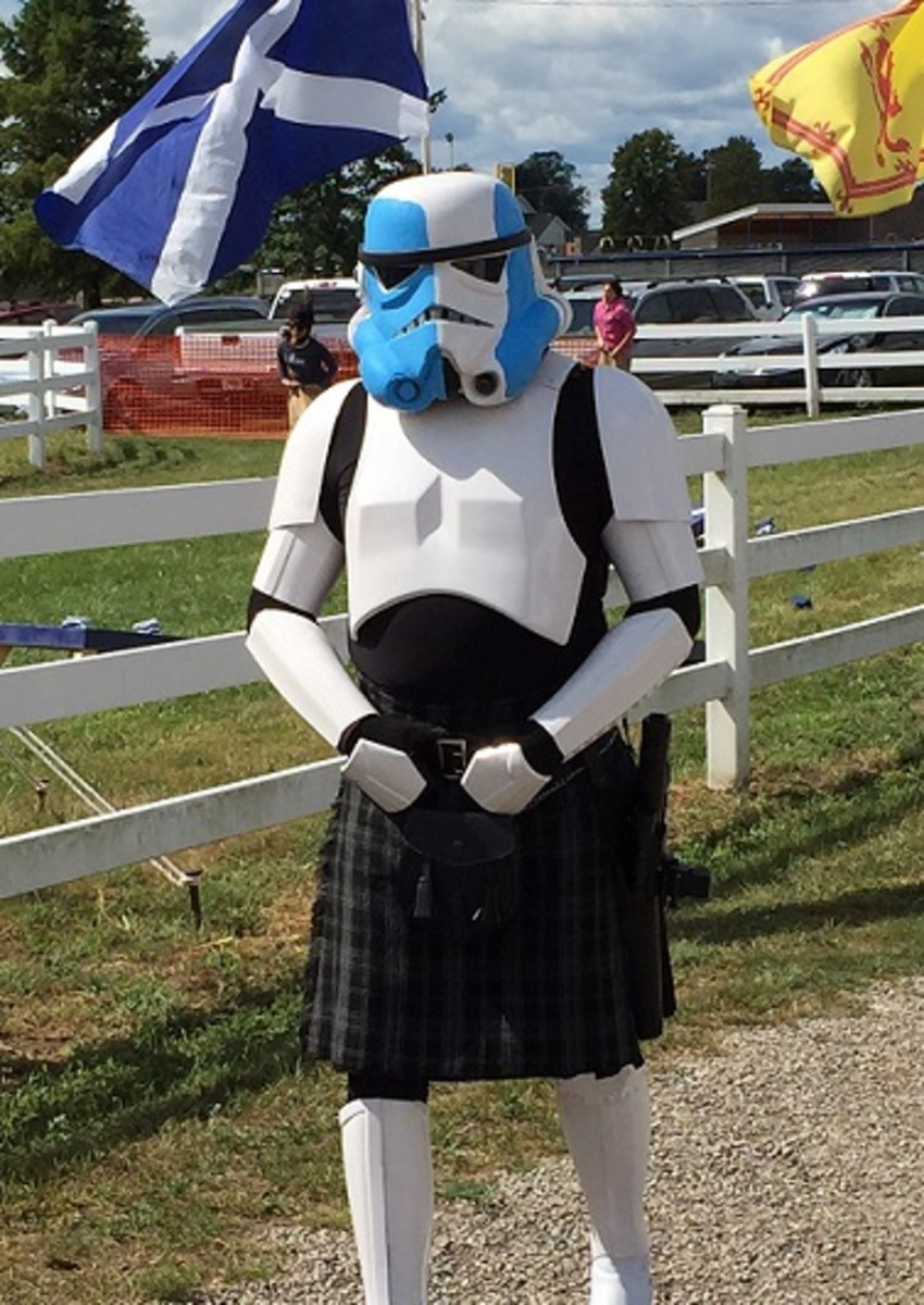 Scots Trooper (photo taken by author at Scottish Festival.