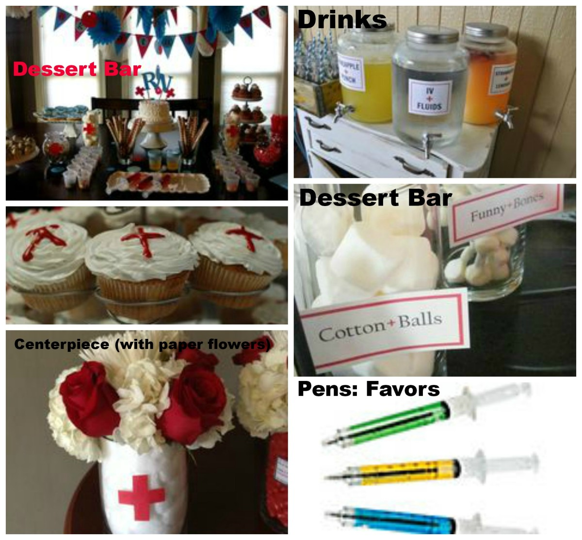 DIY Medical Theme Party