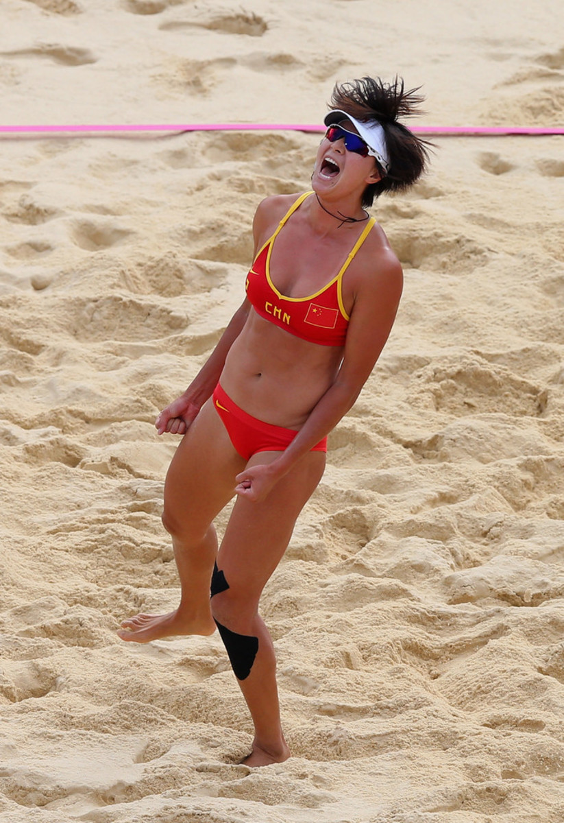 Chinese Beach Volleyball Superstar Xi Zhang: She Is Famous Because of Playing With Partner Xue Chen