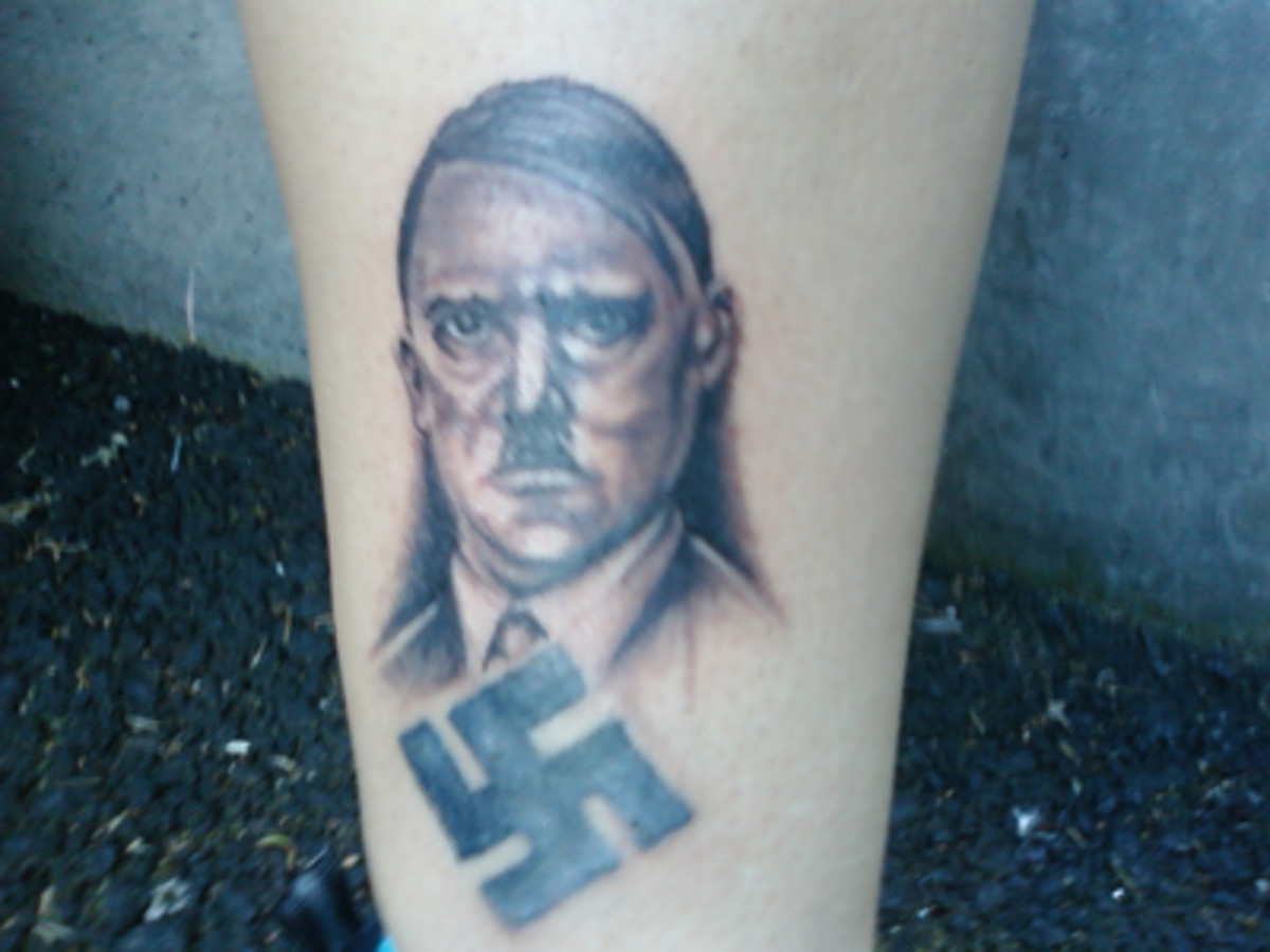 Adolf Hitler Tattoo