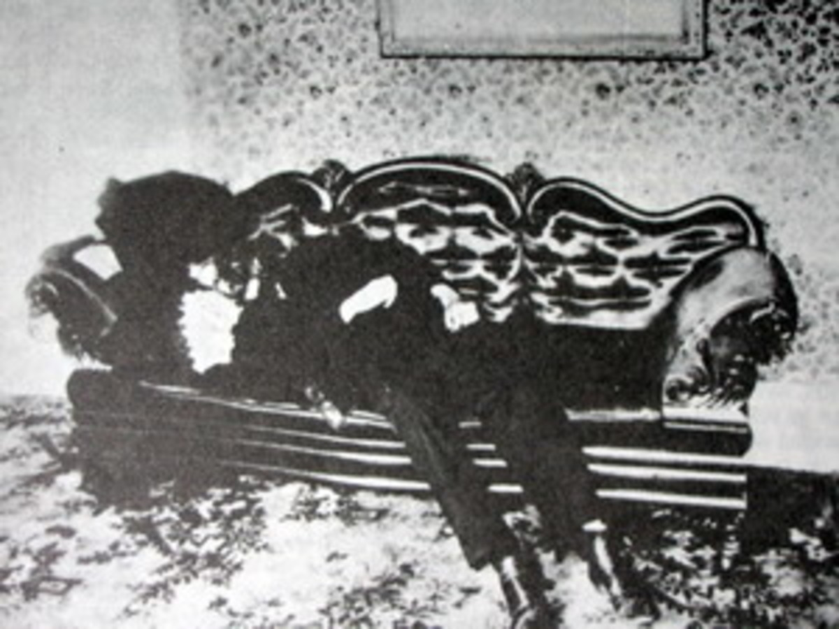 Andrew Borden in death