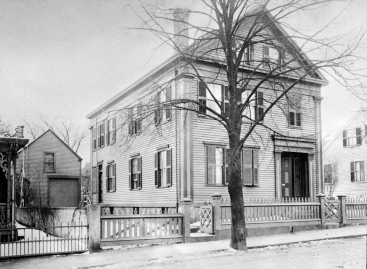 Borden House 1892 (public domain photo)