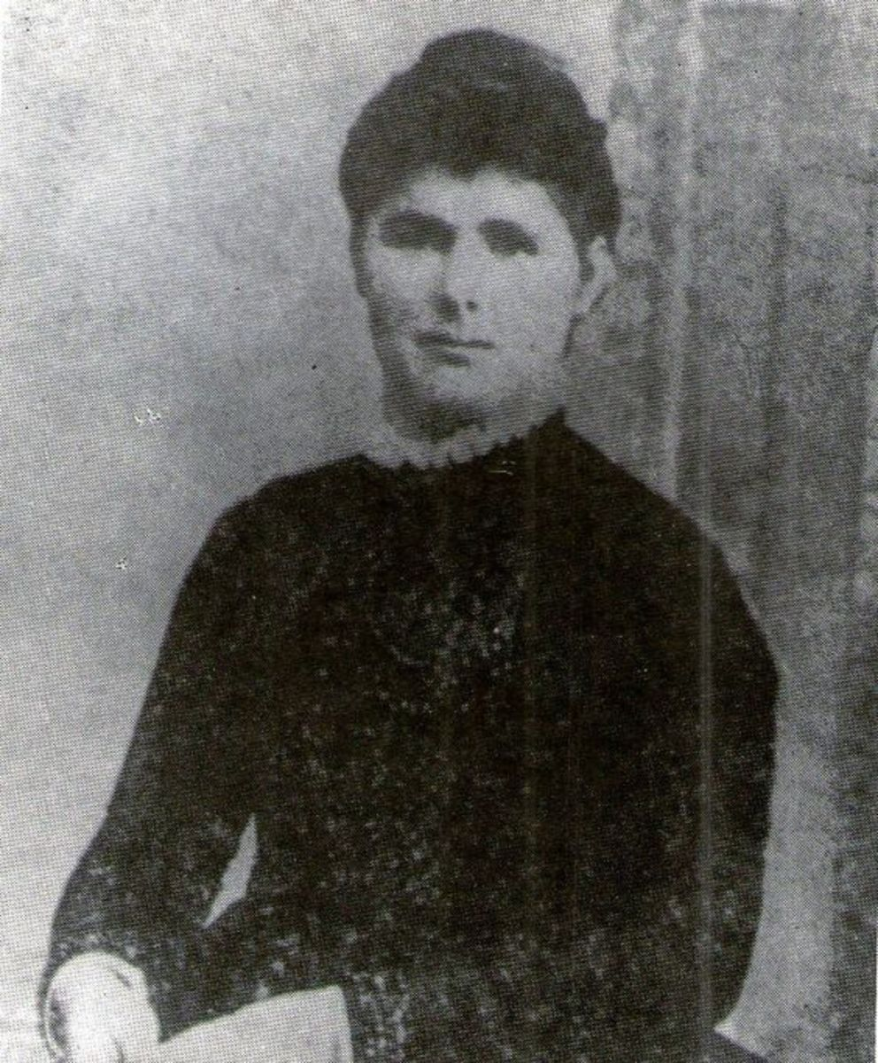 Bridget Sullivan, the Borden maid (public domain photo)