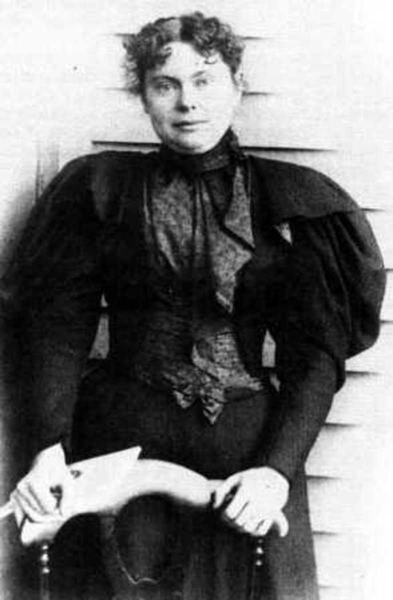 Lizzie Borden (pubic domain photo)