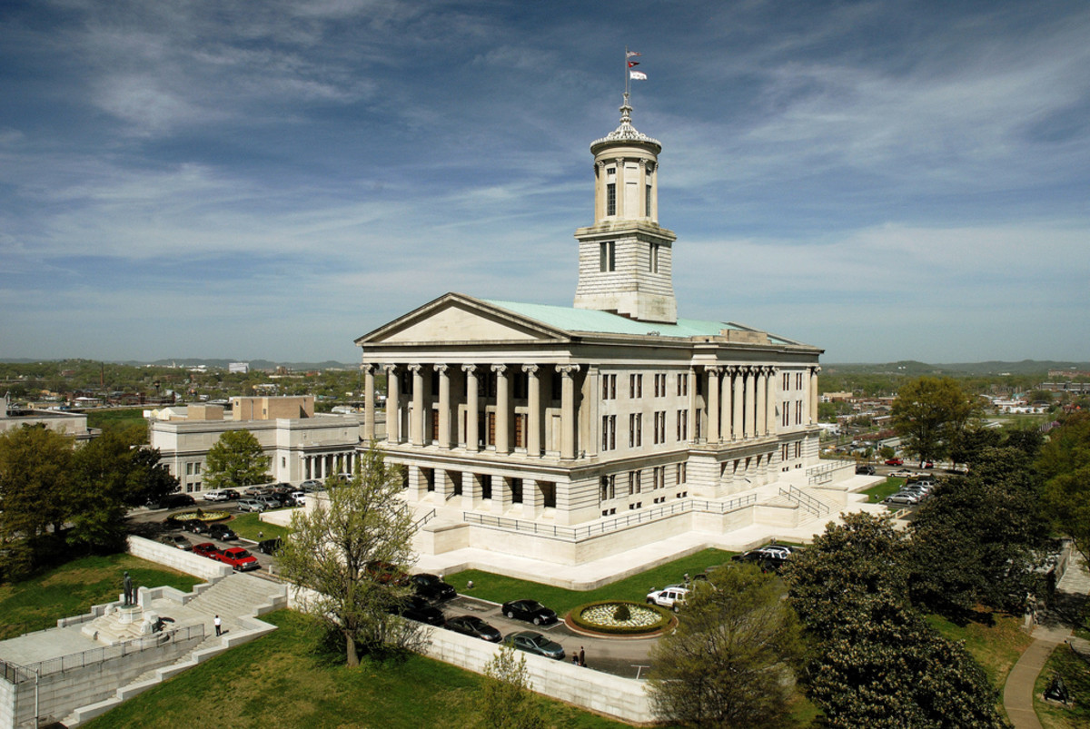 Tennessee State Capitol, Nashville, Tennessee