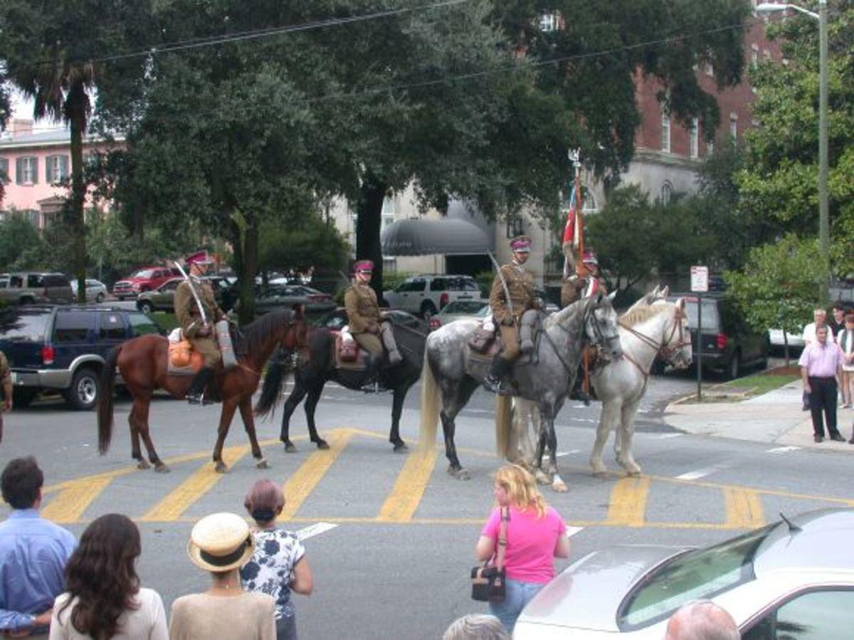 Polish Cavalry representatives