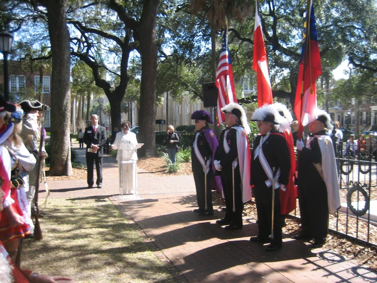 Casimir Pulaski Birthday in Savannah