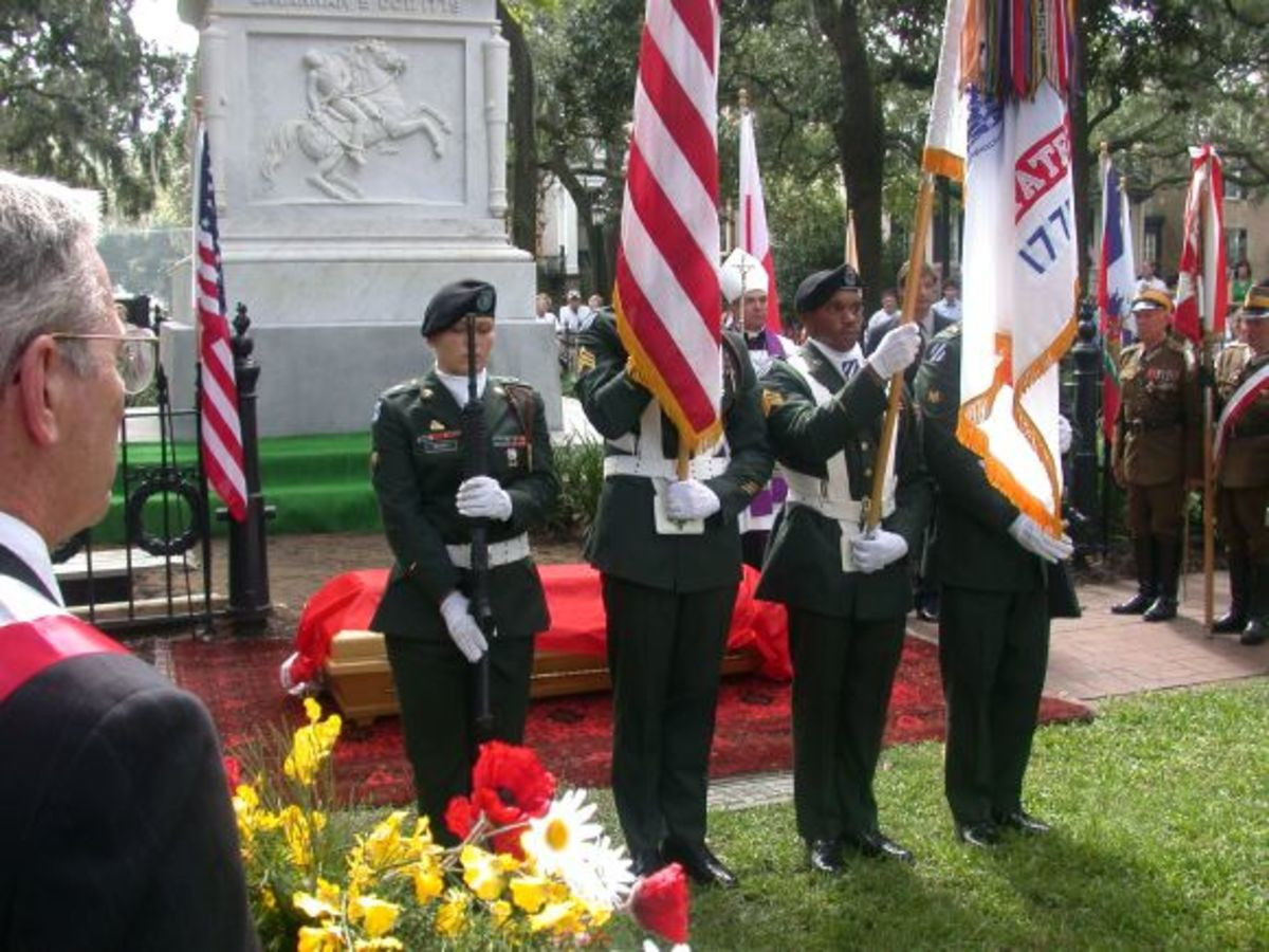 U.S. Army Color Guard, 2005 Pulaski Reinterment