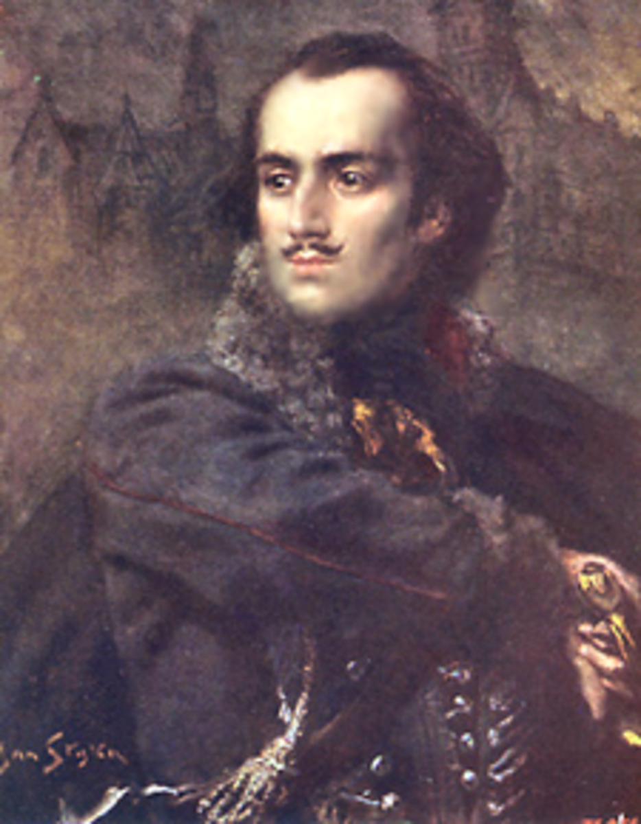 Casimir Pulaski portrait by Jan Styka.