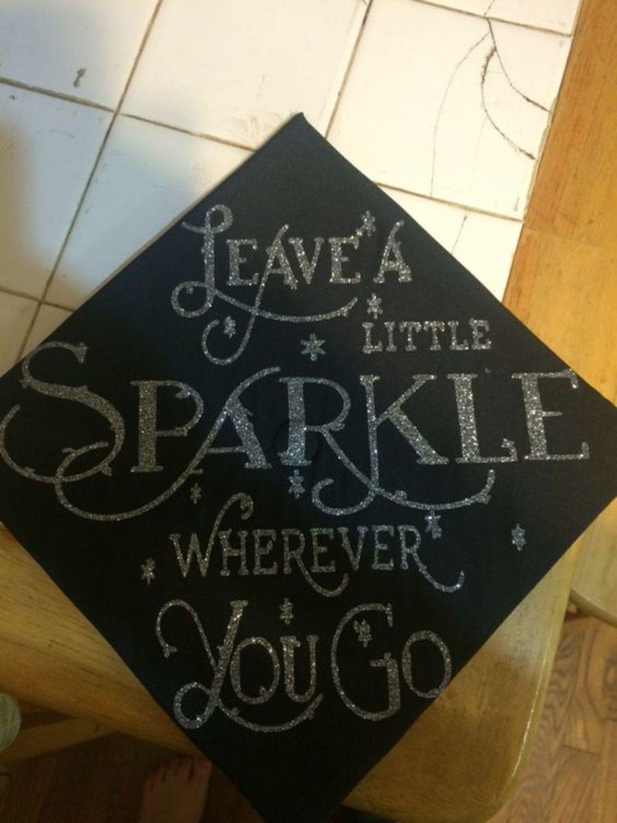Cardboard Mortarboard | DIY Graduation Party Ideas for High School