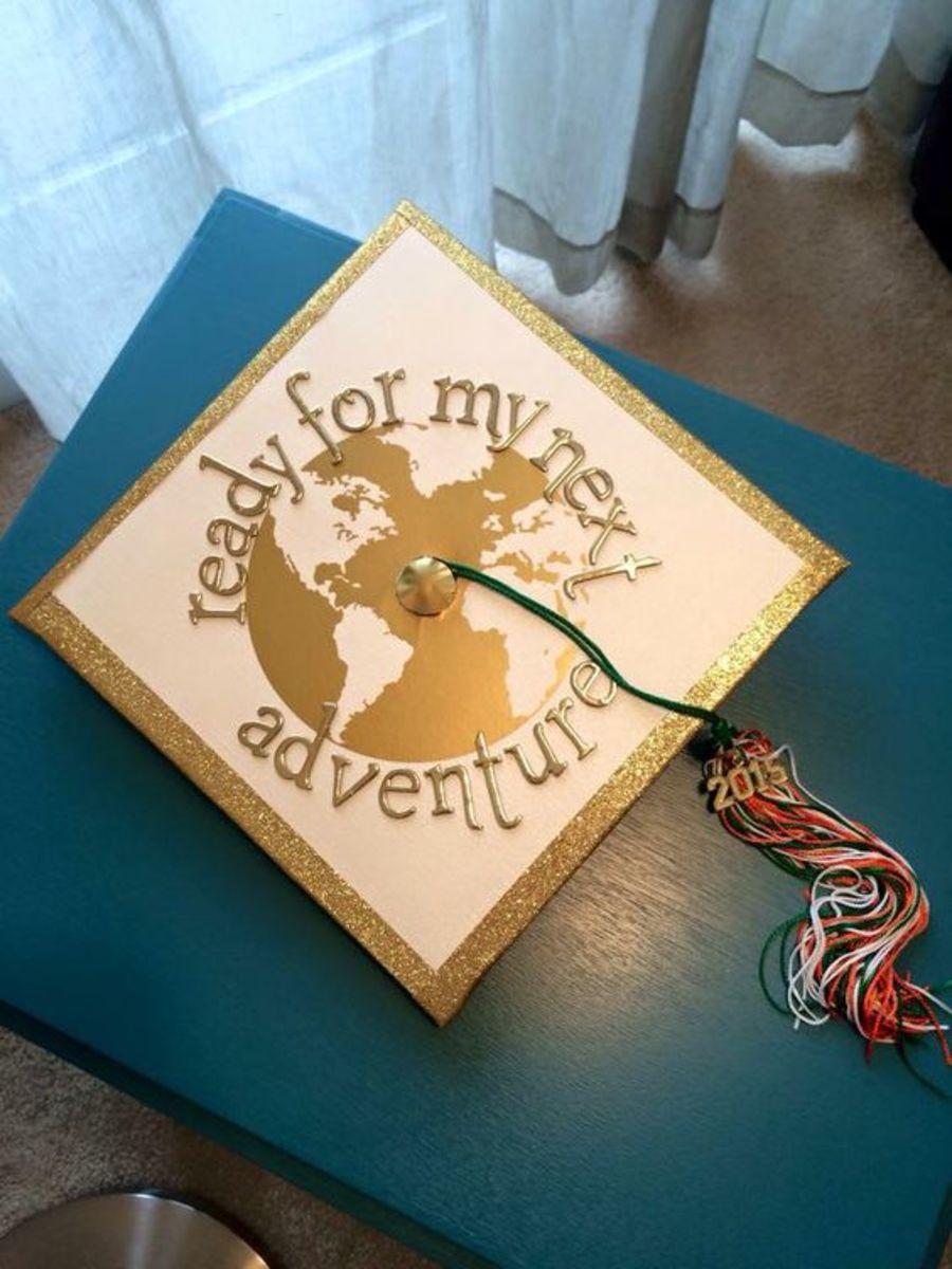 World Travel Grad Cap