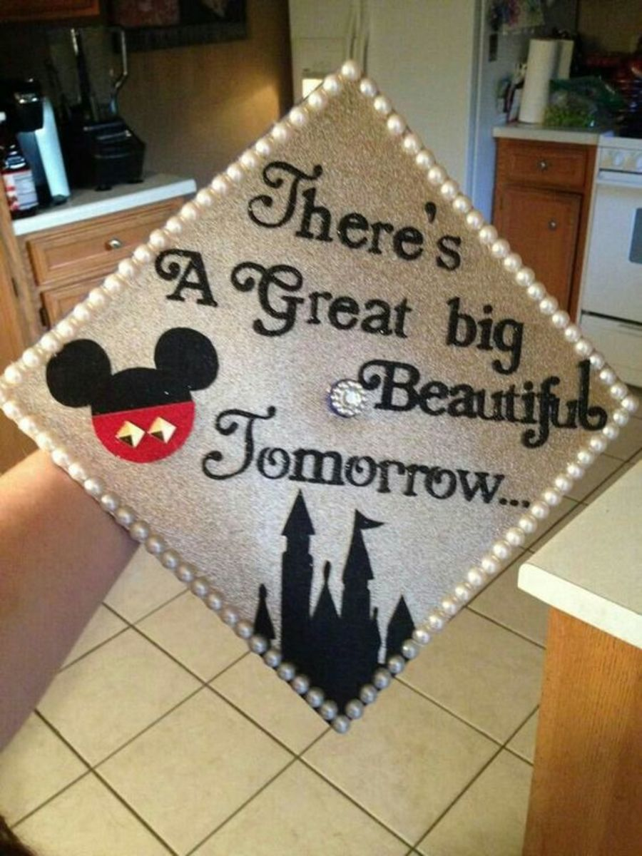 Mickey Mouse | DIY Graduation Party Ideas for High School