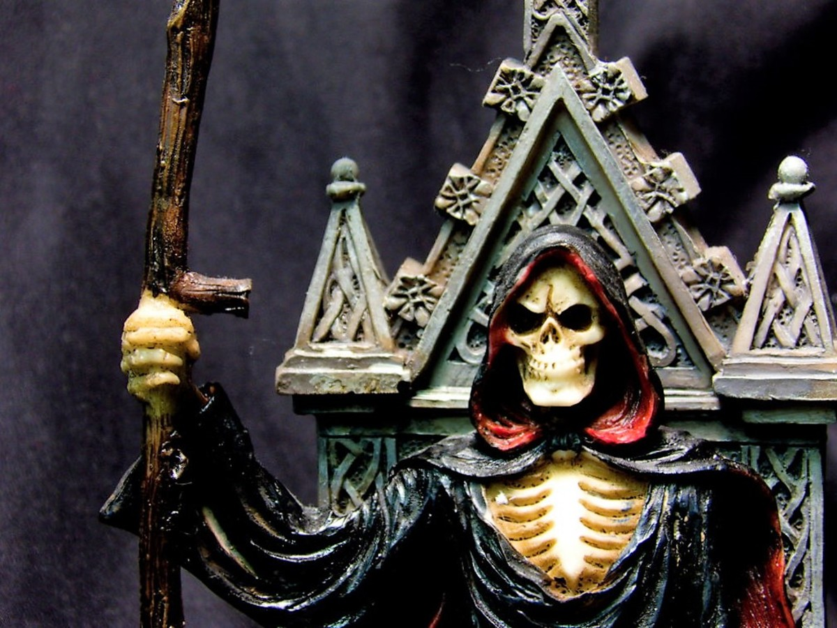 Guidance From The Gods: Santa Muerte