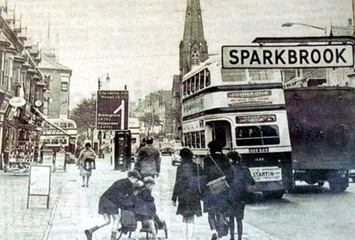 Sparkbrook, Stratford Road, 1960: I was seven years old