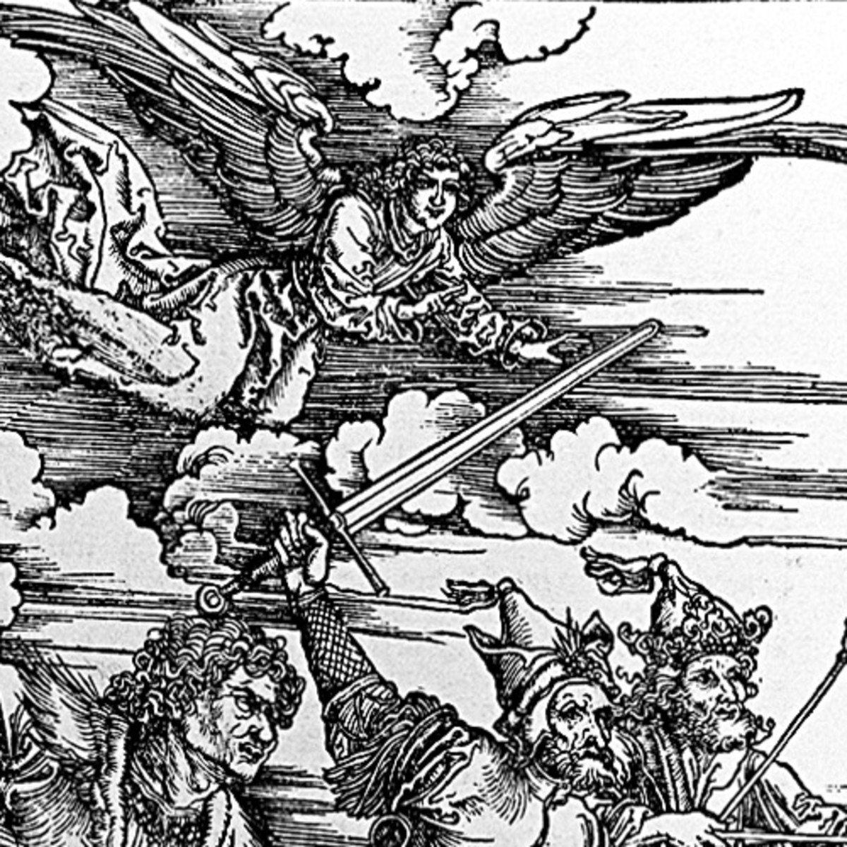 "Here we show another portion of ""The Four Riders of the Apocalypse"" by Albrecht Durer."