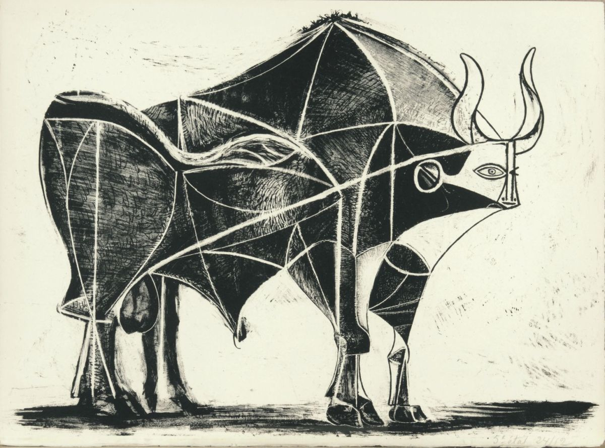 "Picasso's neoclassical etchings: ""almost like tarot cards"""