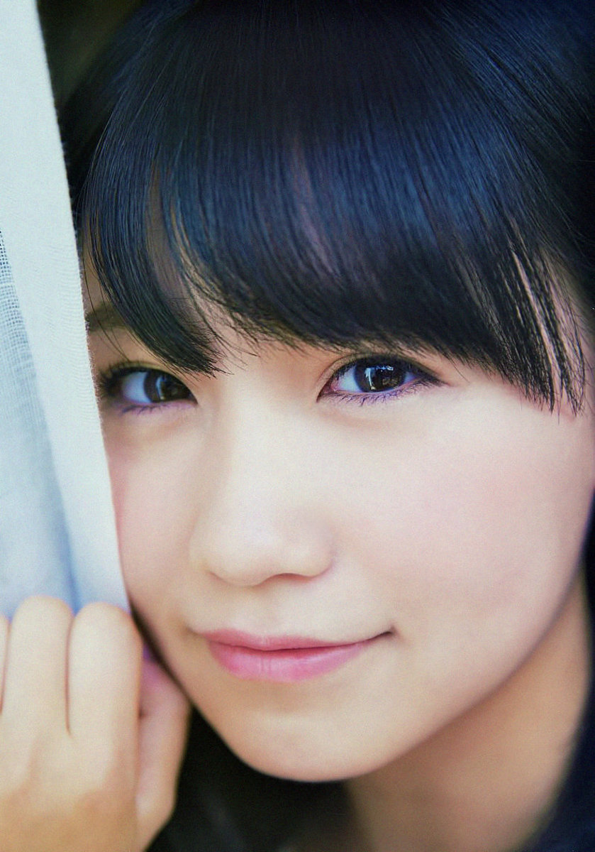 The face of the beautiful Mako Kojima.