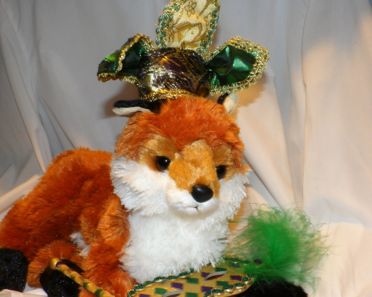 Todd is feeling rather festive with all the foxes running about, how about you?