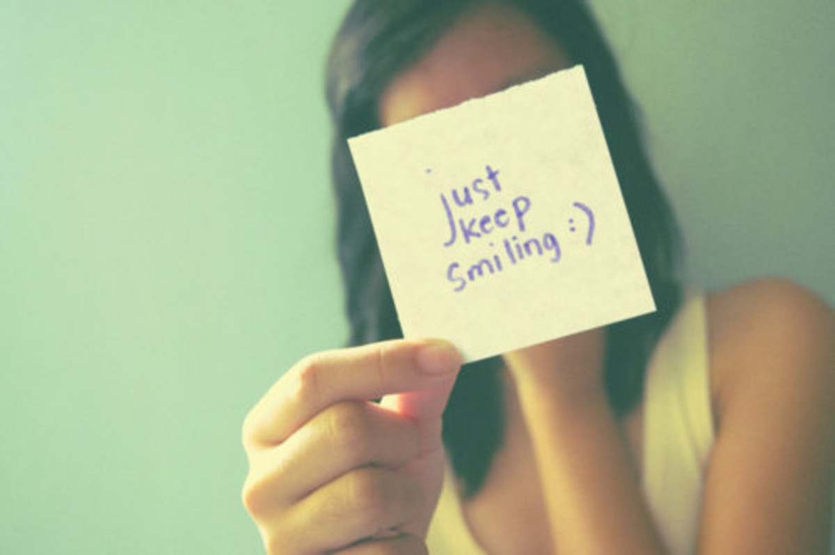 Just keep smiling!