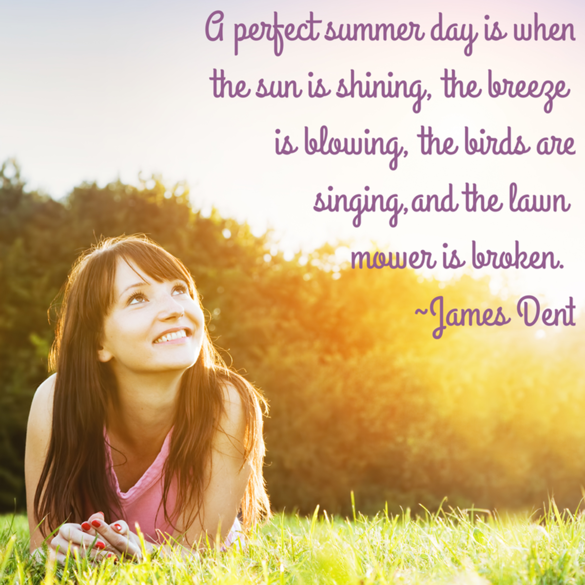 Enjoy a perfect summer day.