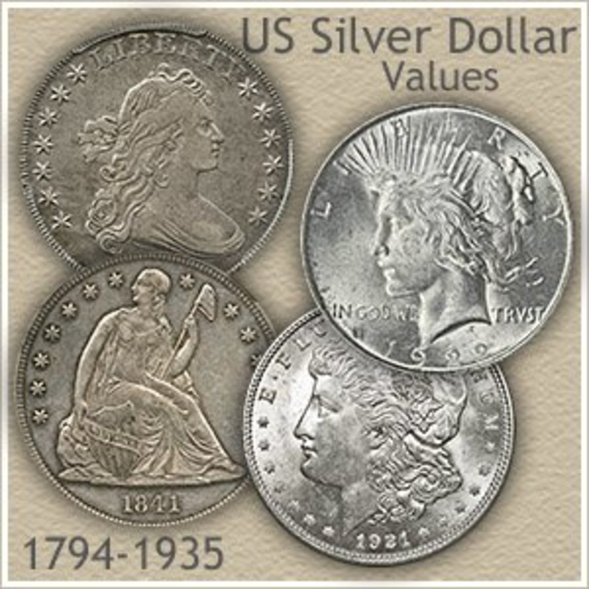 Back then coins were made out of silver not copper, nickel or brass.